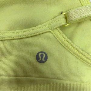 lululemon athletica Intimates & Sleepwear - Lululemon Yellow Ebb to Street Bra 4